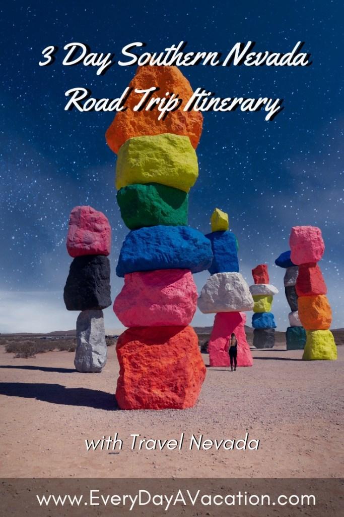 Three Day Southern Nevada Road Trip Itinerary