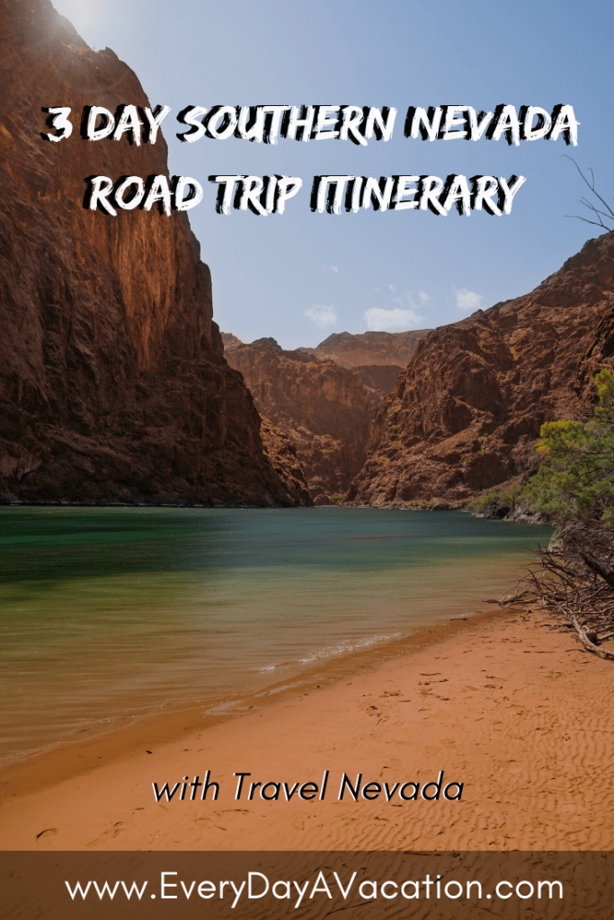 Three Day Southern Nevada Road Trip Itinerary