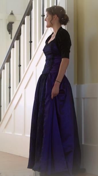 elegant little woman