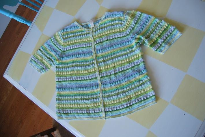 refashion fodder: frumpy sweater