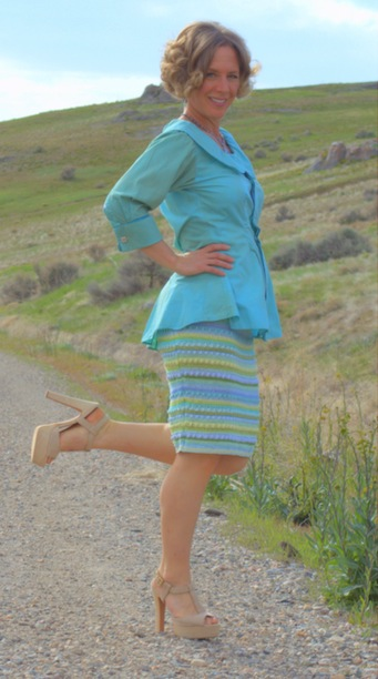 spring refashion: dyed and altered