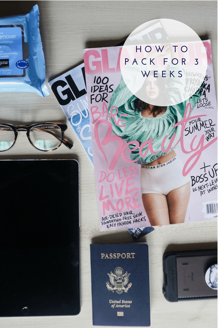 How to Pack for 3 Weeks | 3 Week European Trip | Packing Tips from a Fashion Blogger
