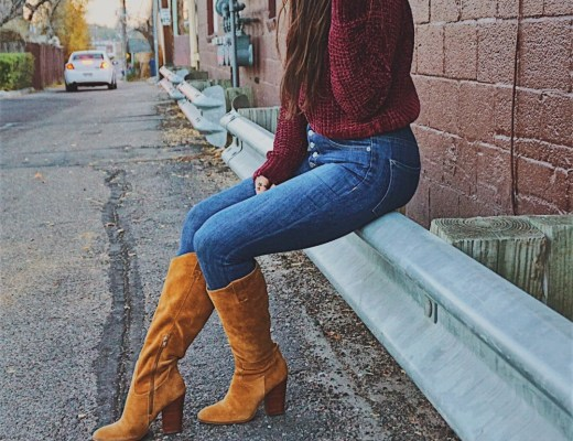 Cute Chenille Sweater / Thanksgiving Day Look / Soft Chenille Sweater