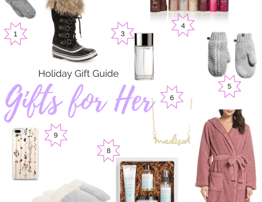 Holiday Gift Guide: Gifts for Her | Everyday Chiffon
