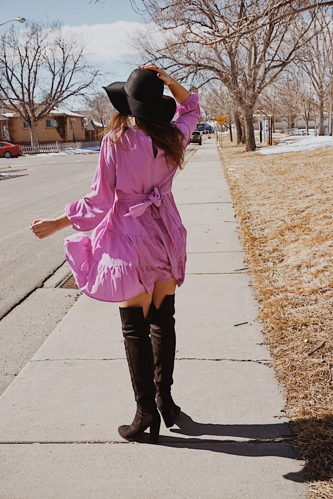 How to Keep your Life in Order   Spring Dress  Style   Lavender Boho Dress   Lavender Spring Dress   Empowering Tips for Woman   Living Your Best Life