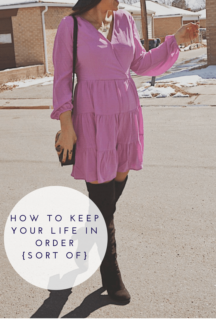 How to Keep your Life in Order | Spring Dress  Style | Lavender Boho Dress | Lavender Spring Dress | Empowering Tips for Woman | Living Your Best Life