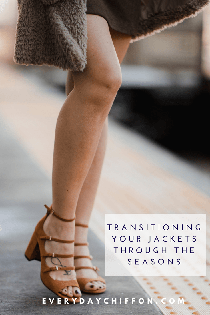 Transitioning your Jackets Through the Seasons | Spring Style Picks | Teddy Bear Coat | Transitioning Looks from Winter to Spring