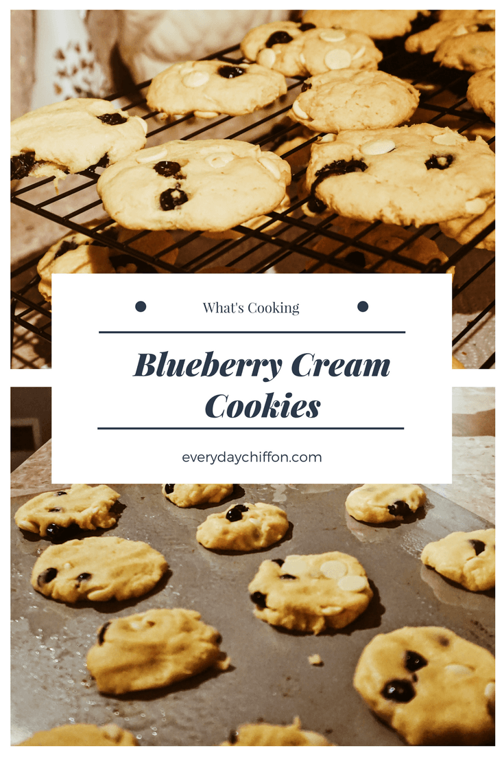 Blueberry Cream Cookies | What's Cooking