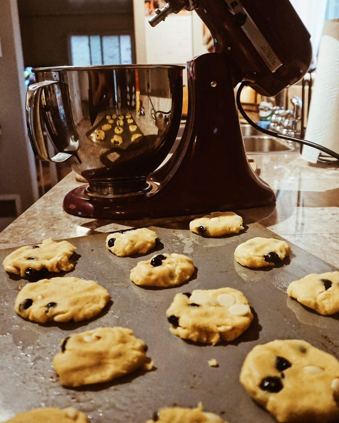 Blueberry Cream Cookies   What's Cooking