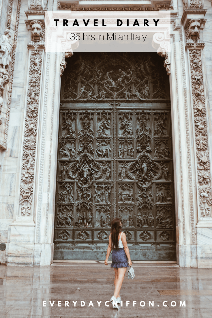 Italy Travel Diary: 36 Hours in Milan