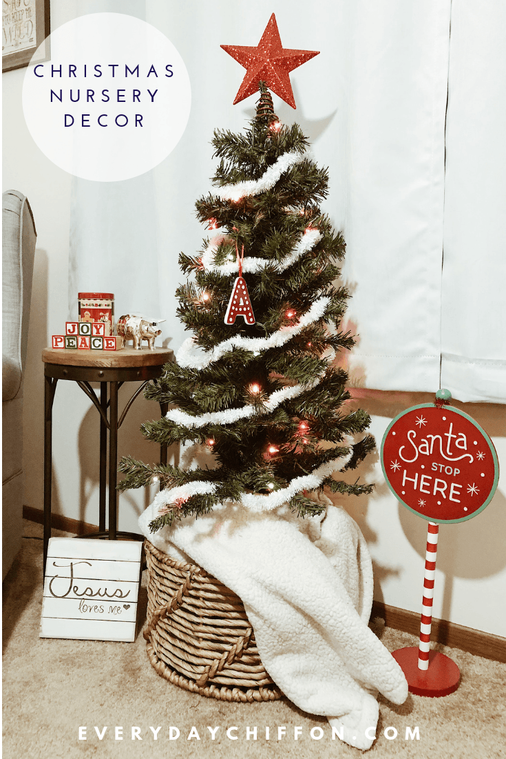 Christmas Nursery Decor | Holiday Home Decor | Everyday Chiffon