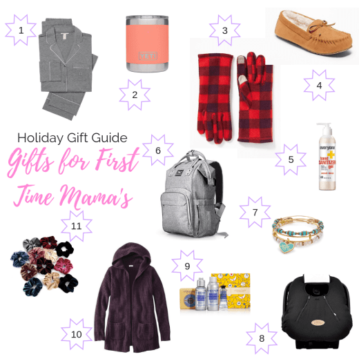 Holiday Gift Guide: Gifts for First Time Mama's | Everyday Chiffon