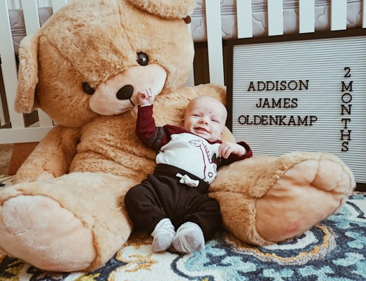 2 Month Update: Addison James | Everyday Mama