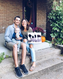 Our First Home | We bought a house & I couldn't be more excited. It's a beautiful 1914 farmhouse (in the city) and it's packed with charm. We're so thrilled to get started on making this home ours and can't wait to share the process with you! Read more on my feelings with buying a home + details on my current favorite place to shop for home decor on Everydaychiffon.com