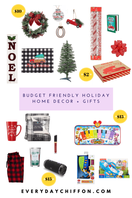 Budget Friendly Holiday Home Decor & Gifts with Dollar General | Everyday Chiffon