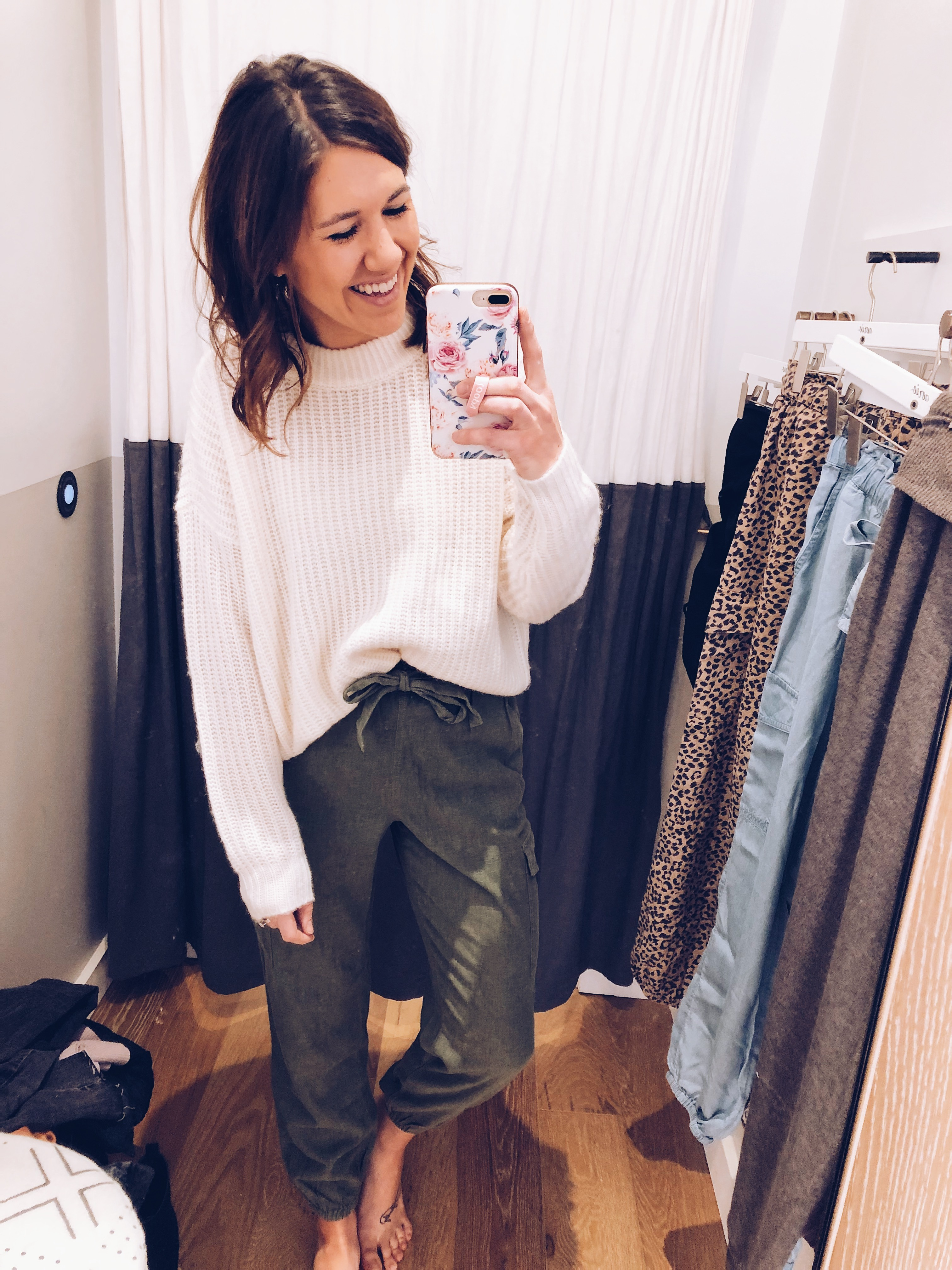 Aerie + AE Spring Try-On | Everyday Chiffon