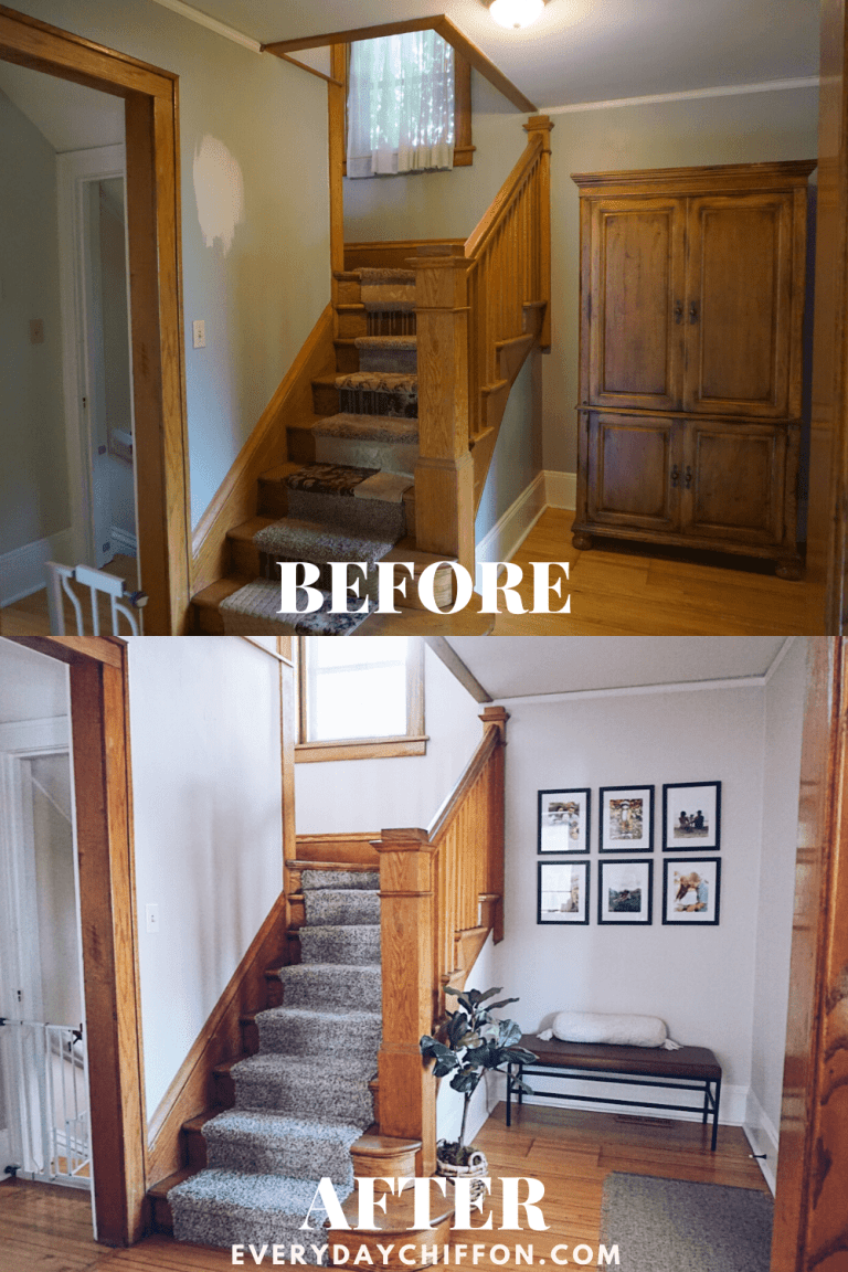 Entryway Reveal: 100+ Year Old Home Coming to Life | Everyday Chiffon