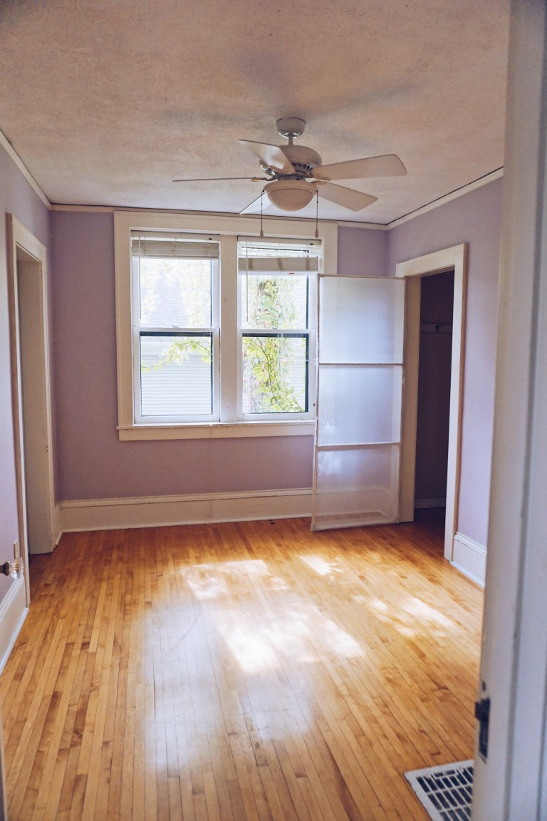 Master Bedroom Reveal: Before & After | Everyday Chiffon - 100 year old home