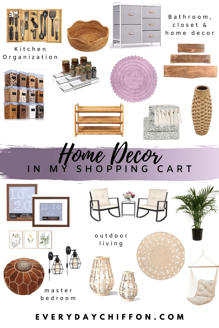 Home Decor I'm Currently Shopping | Everyday Chiffon