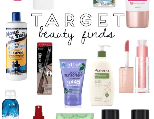 Target Beauty Finds | Everyday Chiffon