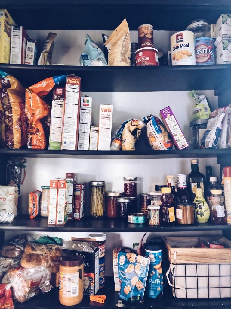 Amazon Pantry Organization | Everyday Chiffon