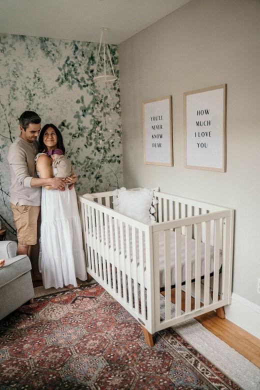 Nursery Reveal + Newborn Photoshoot | Everyday Chiffon