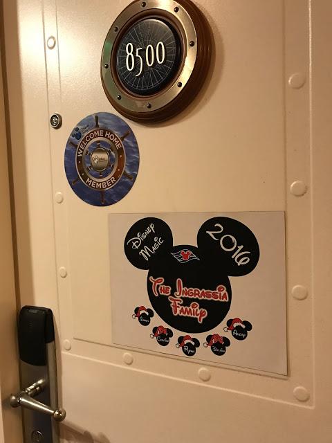 Disney Cruise Personalized Door