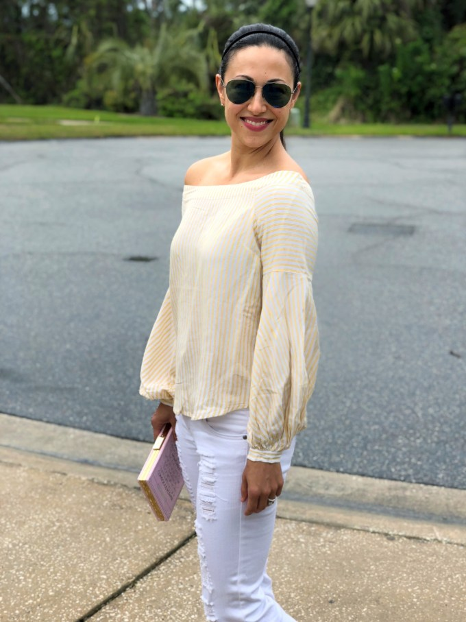 spring trends i can't live without yellow top