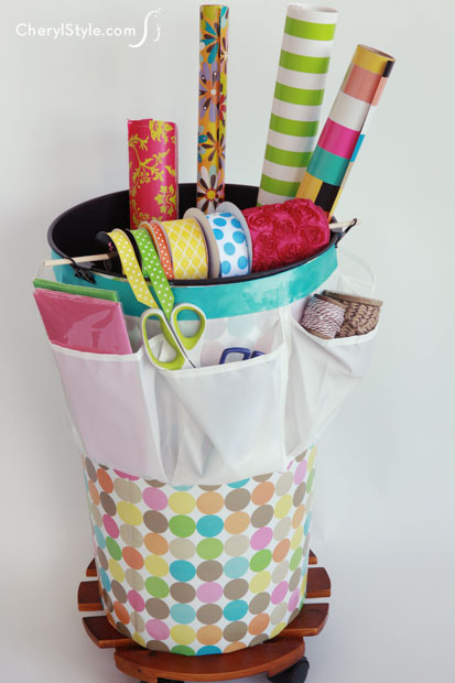 Organizer Wrapping Diy Paper