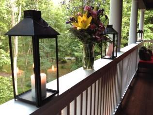 Step onto the porch ...