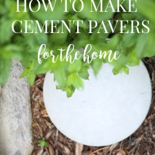 How to Make Cement Pavers