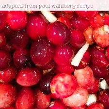 Mark Wahlberg's Brother's Cranberry Orange Sauce