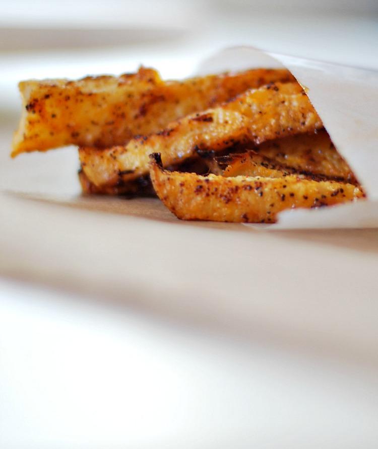 Oven Baked Jicama Fries