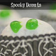 How to Make Halloween Donuts in a Minute