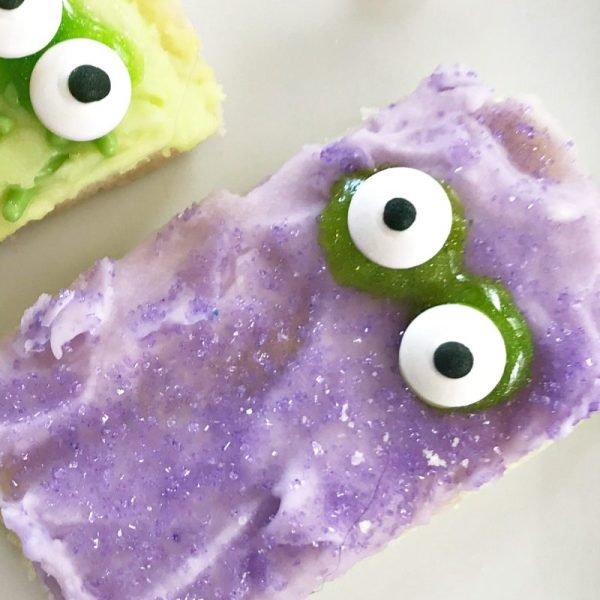 How to Make Monster Sugar Cookie Bars