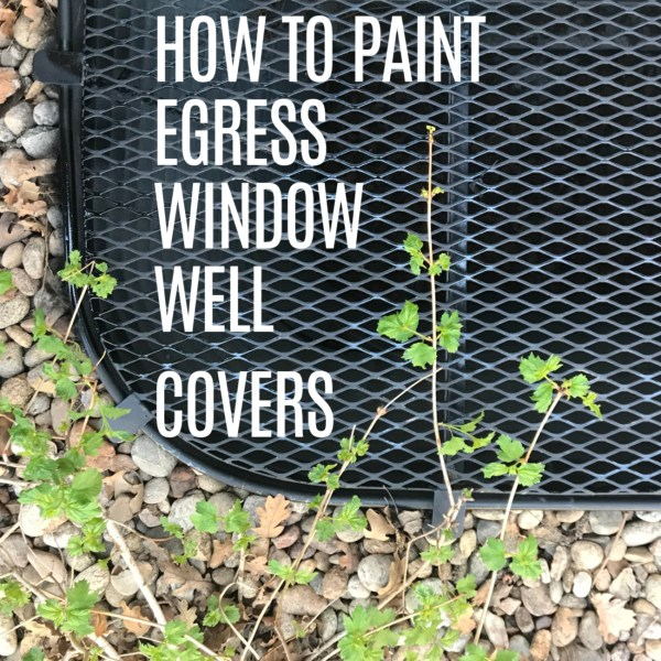 How to Paint Egress Window Covers
