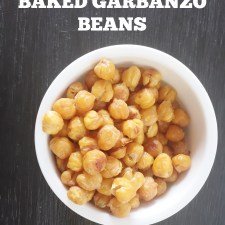 How to Make Baked Garbanzo Beans
