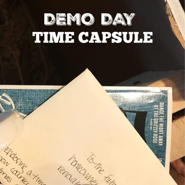 How to Make a Family Time Capsule During a Remodel
