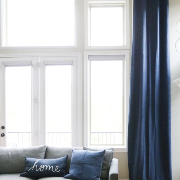 How to Add Window Treatments to Blank Walls