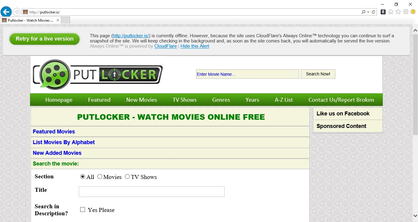 Why Is Putlocker.is Still Down? – EverydayElectronics