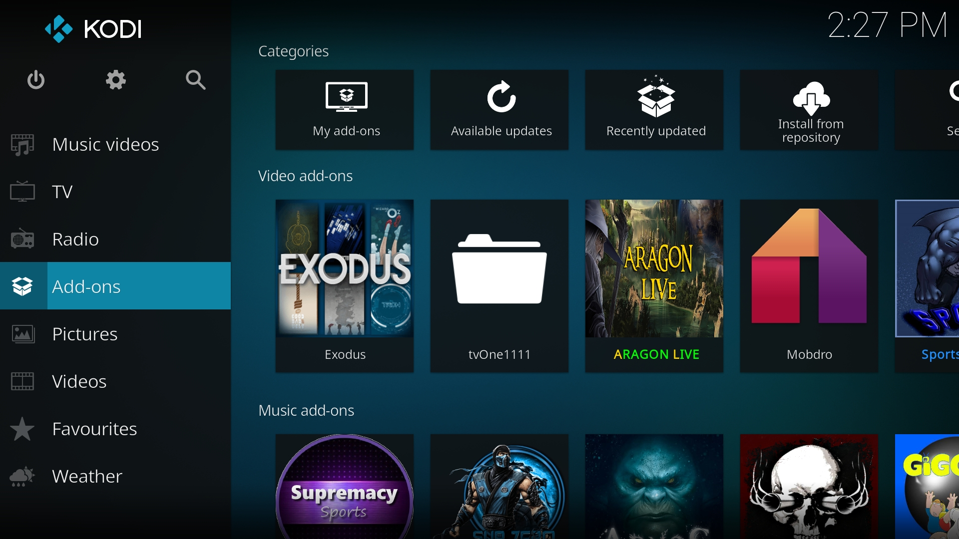 add on exodus kodi