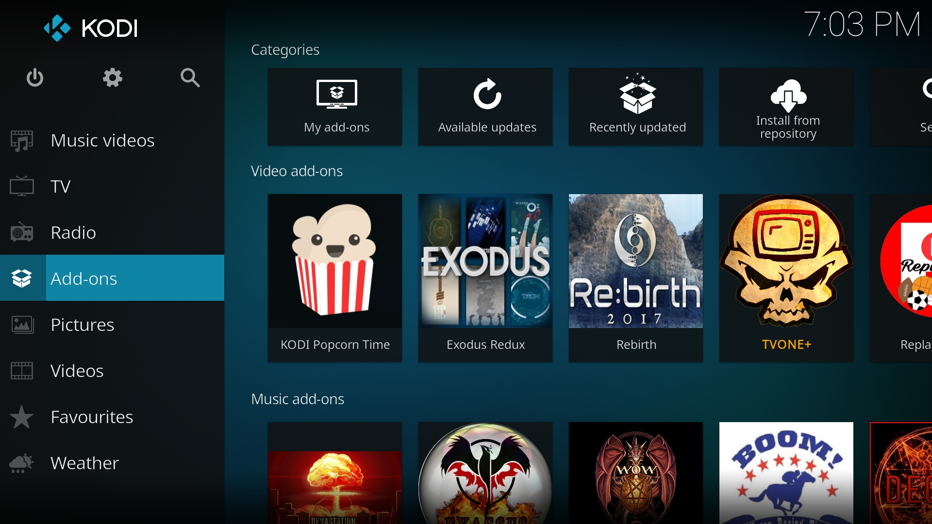 how to put popcorn time on android box