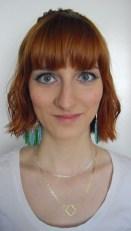 Cleopatra-like make-up