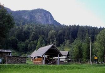 A huge rock above Brod village