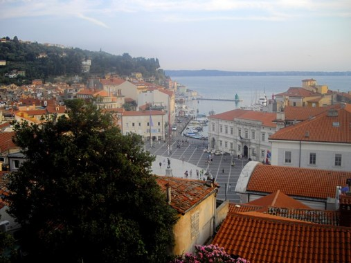 The red roofs of Piran