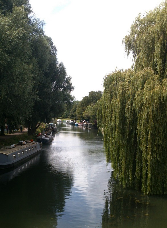 Boats on the Cam.
