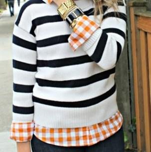 plaid shirt colored
