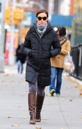Olivia Wilde winter style