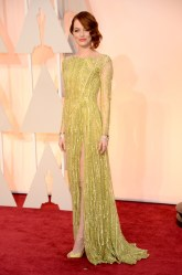 Dresses at the Oscars 2015 Emma Stone