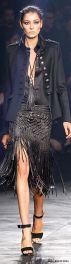 everydayfacts fringed skirt Roberto Cavalli